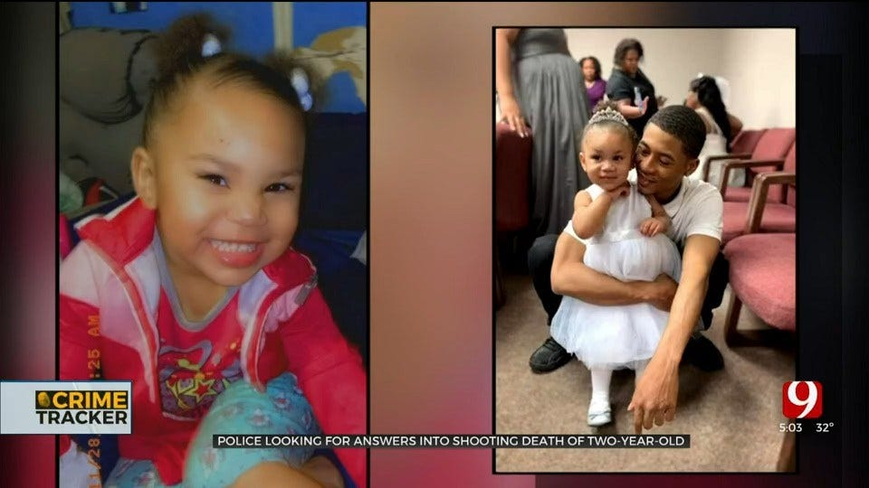 OKC Investigators Looking For Answers After 2-Year-Old Girl's Shooting Death