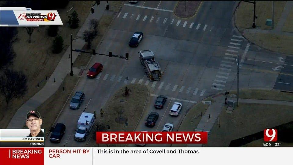Auto-Pedestrian Crash Reported In North Edmond