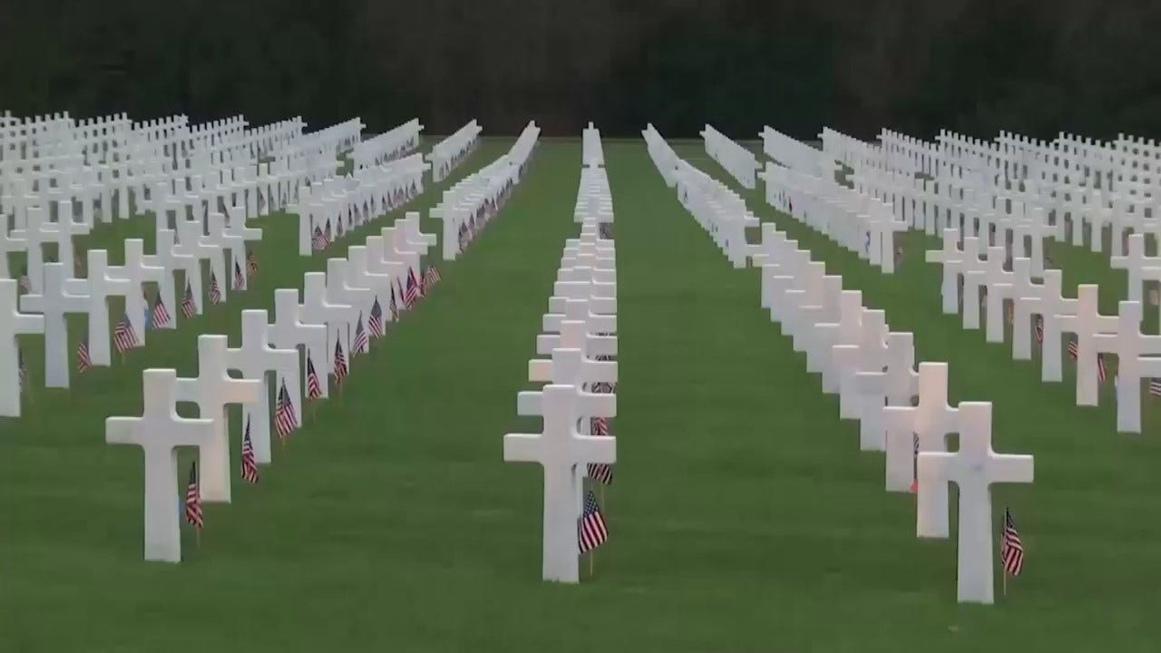 Luxembourg, US Honor Military Who Fought In Battle Of The Bulge On 75th Anniversary