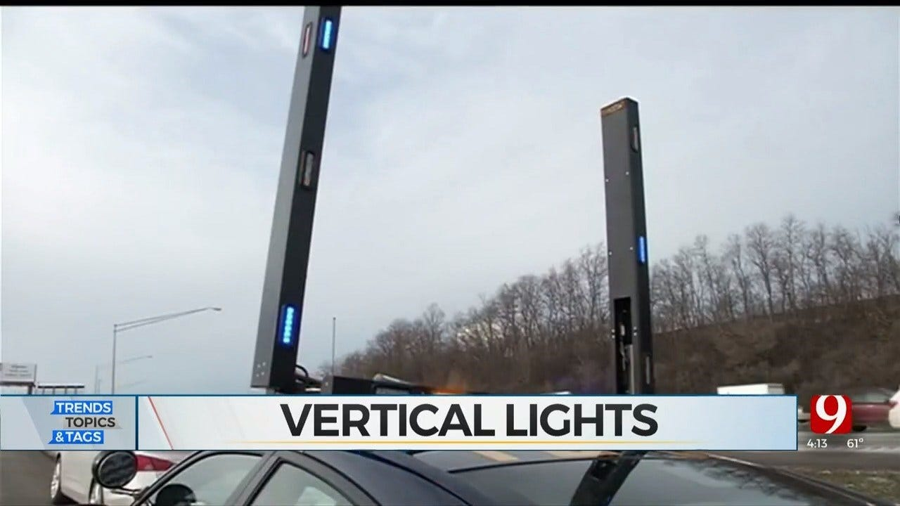Trends, Topics & Tags: Vertical Police Lights & Excessive Christmas Lights
