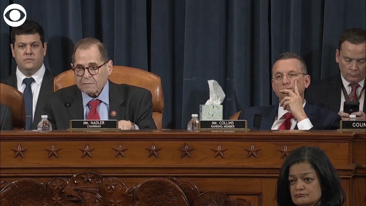 WATCH: House Judiciary Committee Approves Articles Of Impeachment