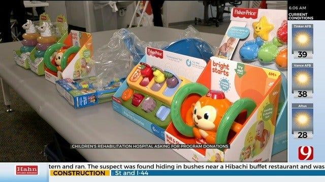 Children's Rehabilitation Hospital Asking For Program Donations