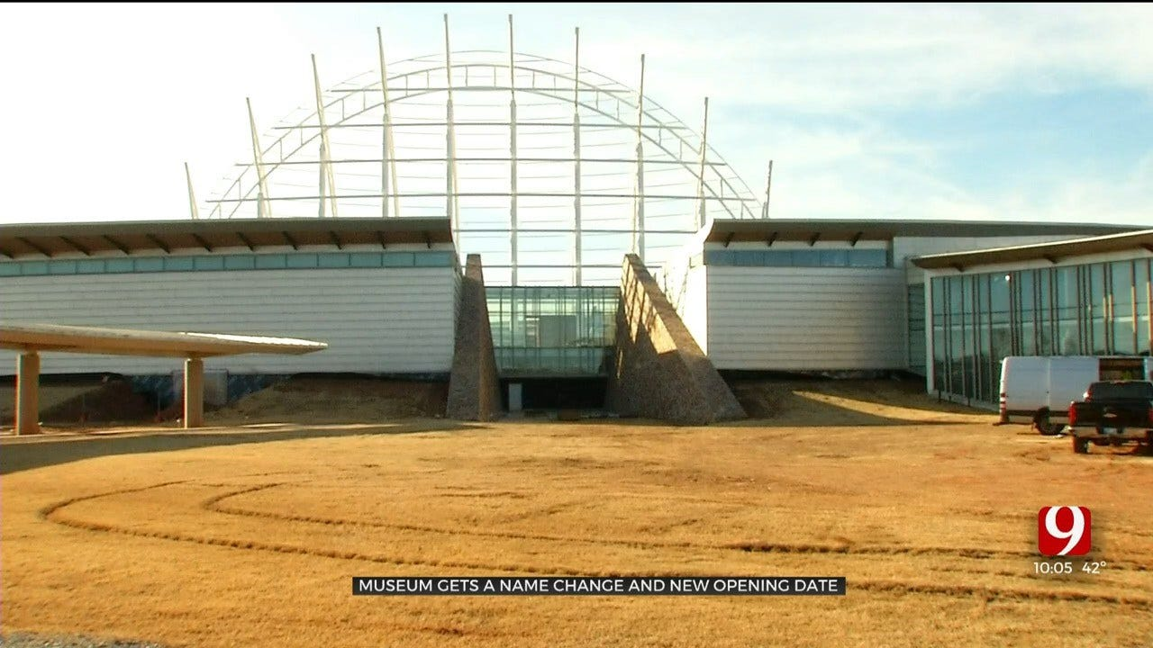 American Indian Museum In OKC Gets New Name, New Opening Date