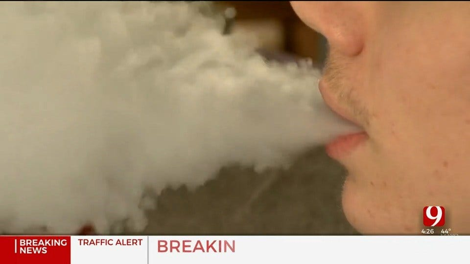 Medical Minute: Second-Hand Vaping