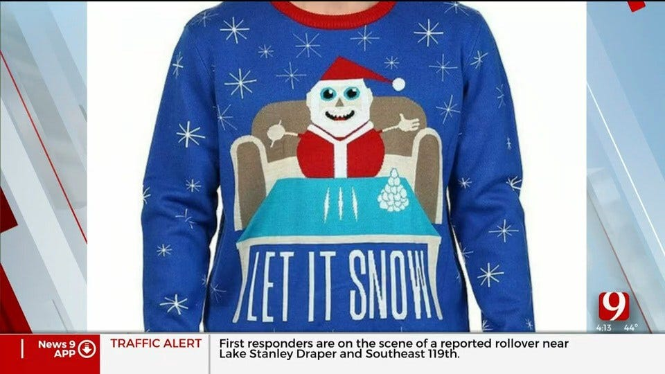 Trends, Topics & Tags: Controversial Christmas Sweater