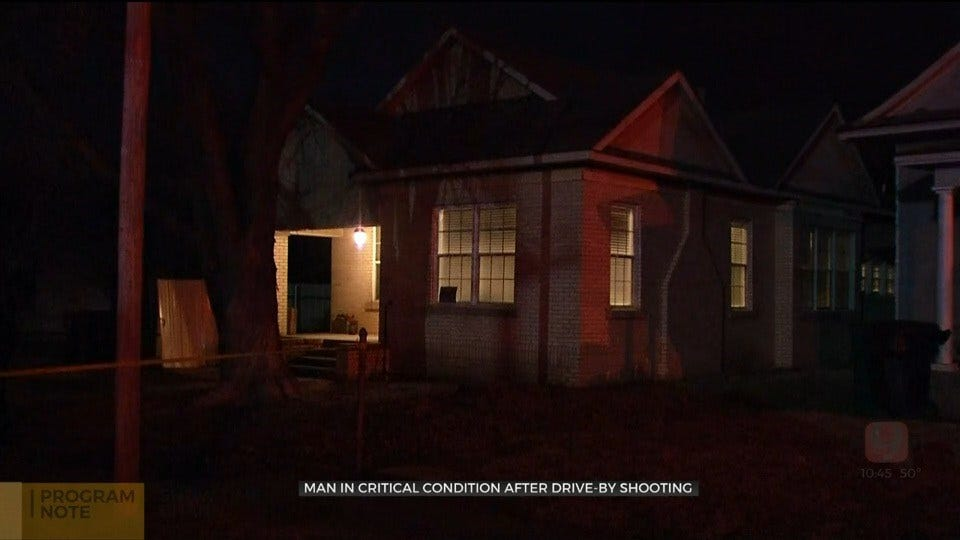 1 Victim In Critical Condition After Drive-By Shooting In SW OKC