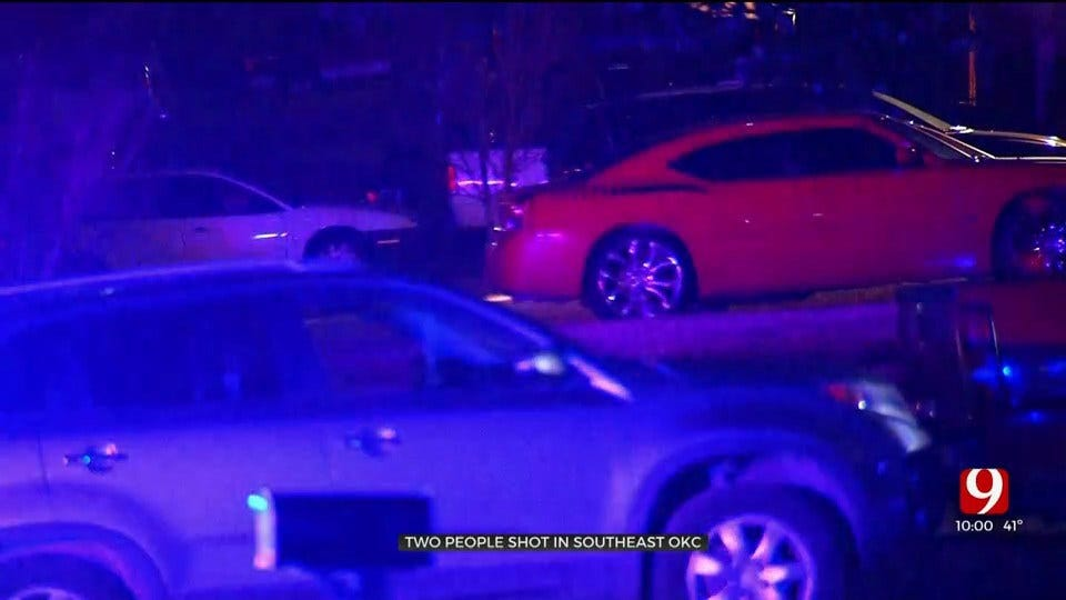 Police: 2 Hospitalized Following Shooting In SE OKC