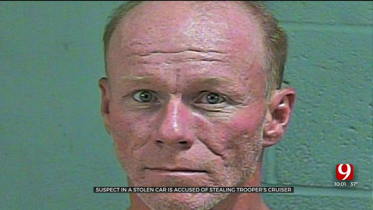 Suspect Pulled Over In Stolen Car, Then Steals OHP Trooper's Cruiser
