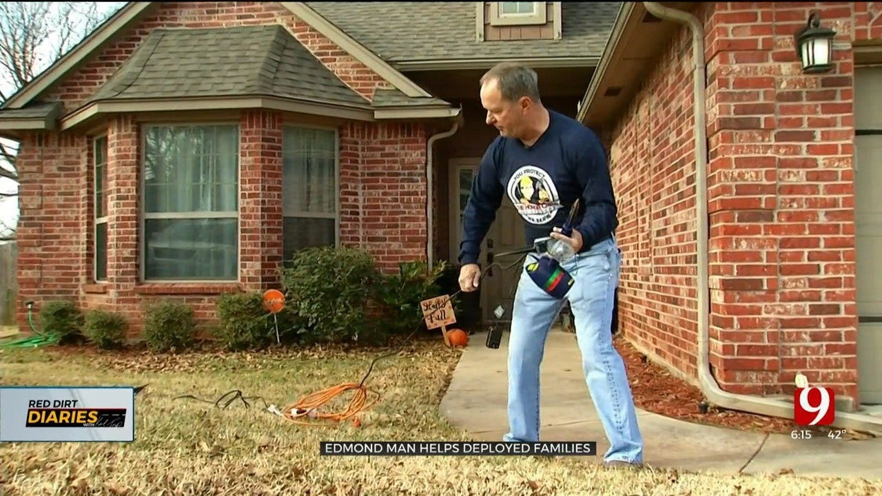 Red Dirt Diaries: 'Honor Crew' Helps Oklahoma Deployed Service Members' Families