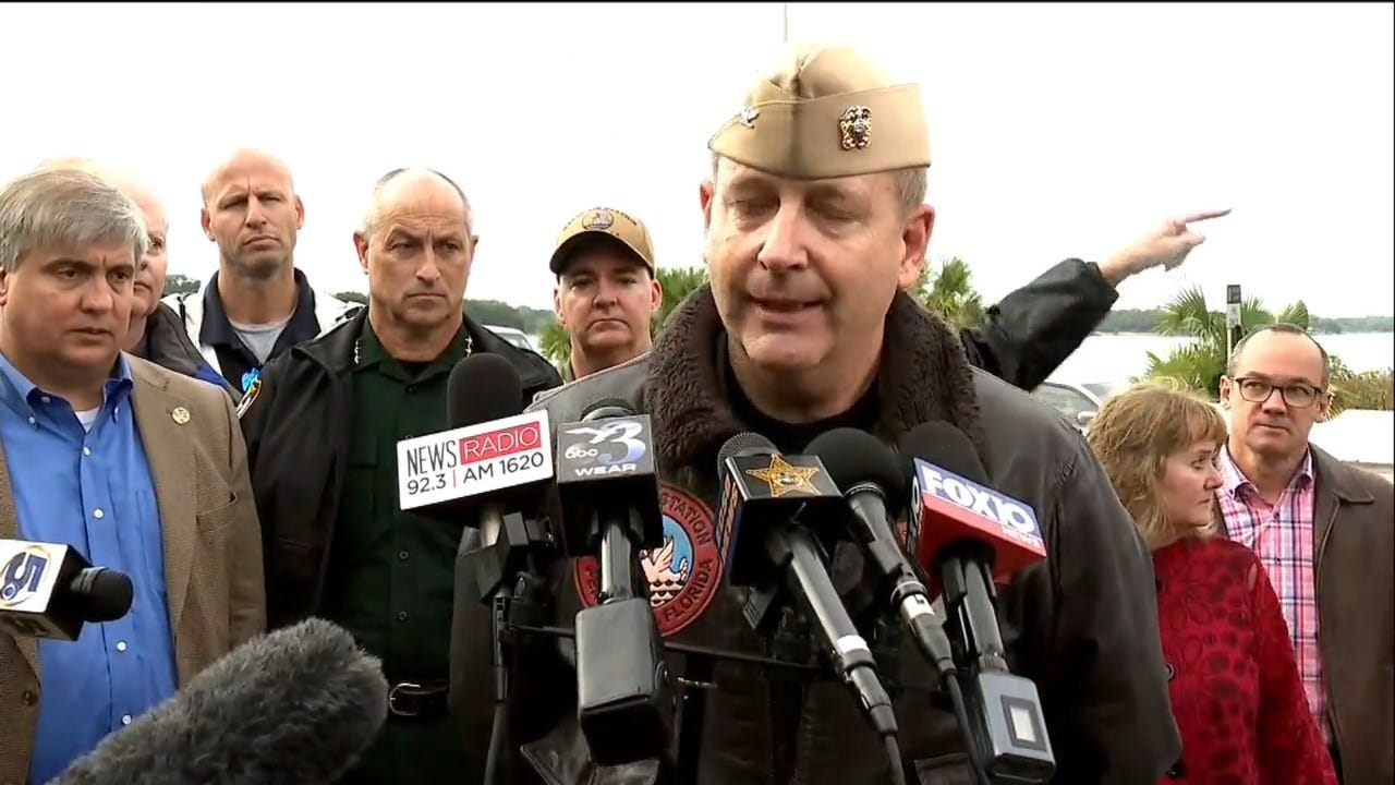 WATCH: Military Officials Hold Press Conference Following Florida Naval Base Shooting