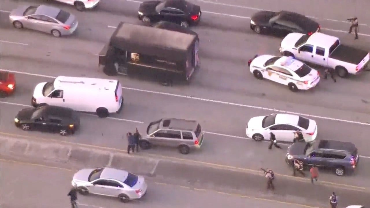 Details Emerge About UPS Driver Killed In Shootout After Being Taken Hostage In Police Chase