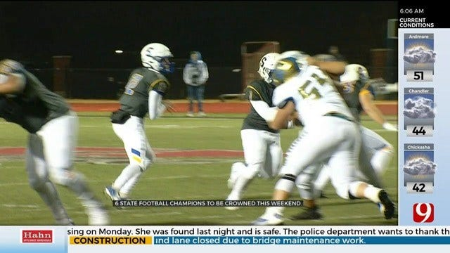 6 State Football Champions To Be Crowned This Weekend