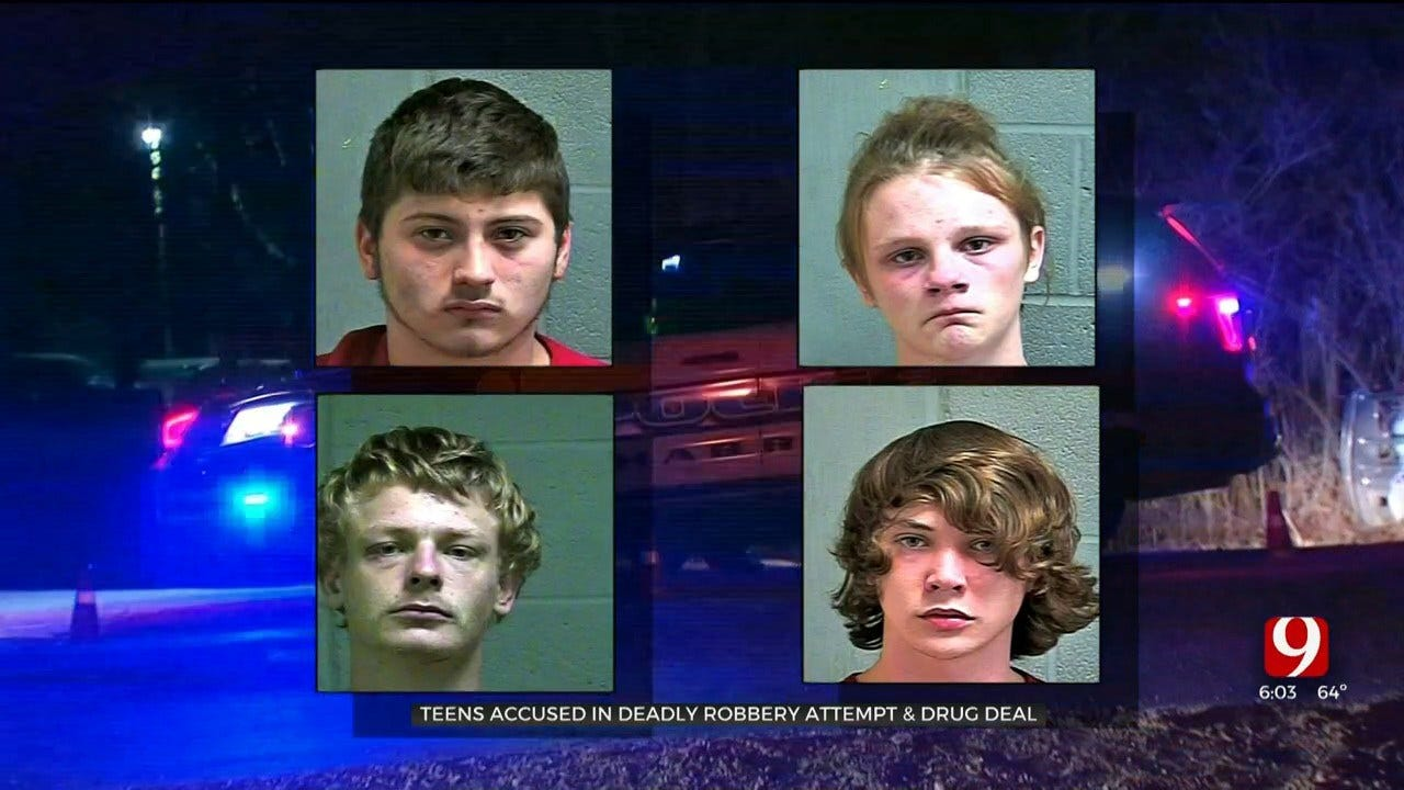 3 Teens Accused In Deadly Robbery Attempt, Drug Deal