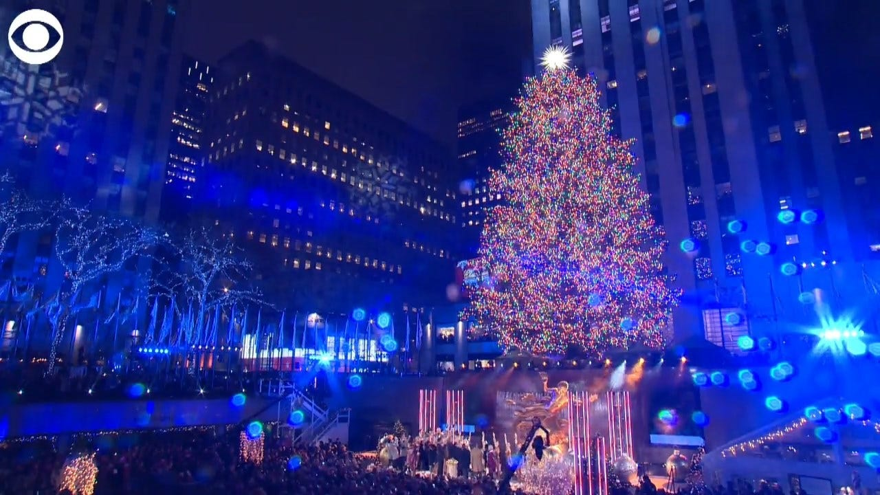 WATCH: The Christmas Tree Lighting At The Rockefeller Center