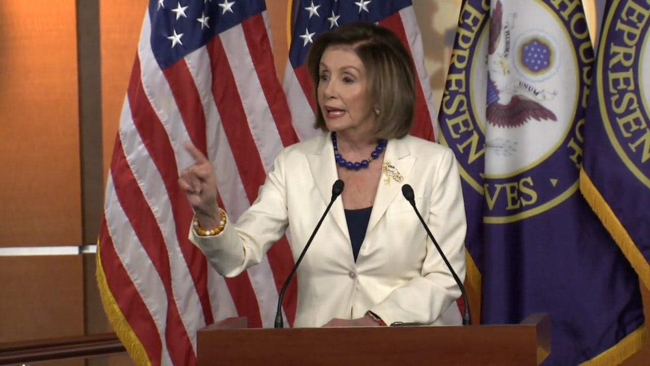Pelosi On Trump Impeachment, If She Hates Trump: 'I Don't Hate Anybody'
