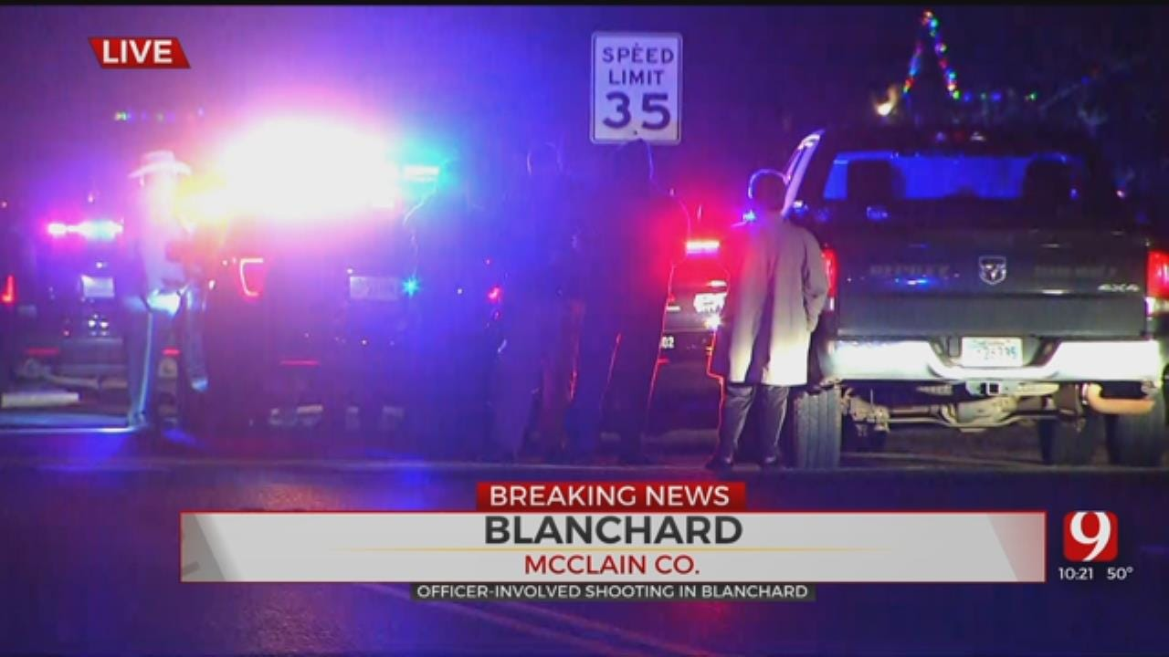 Investigation Underway Following Officer-Involved Shooting In Blanchard