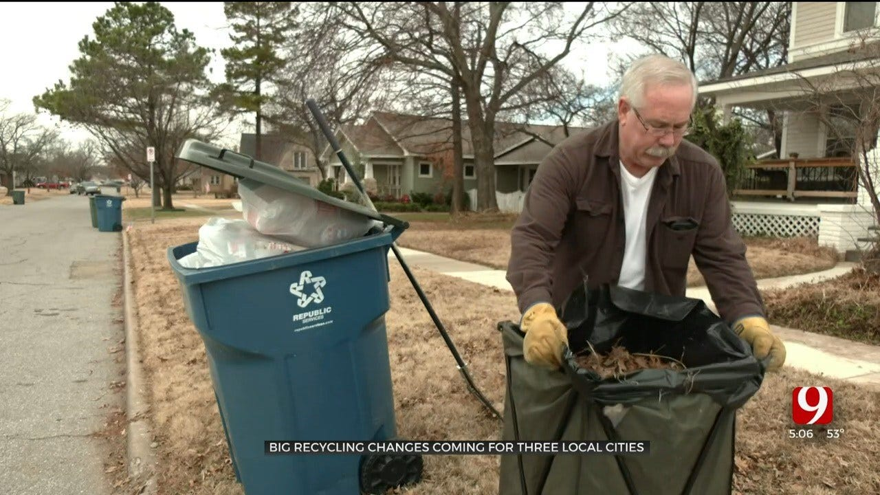Major Changes Coming For Edmond, Midwest City And Norman Recycling Programs