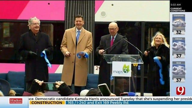 Oklahoma City Streetcars Approach 1 Year Anniversary