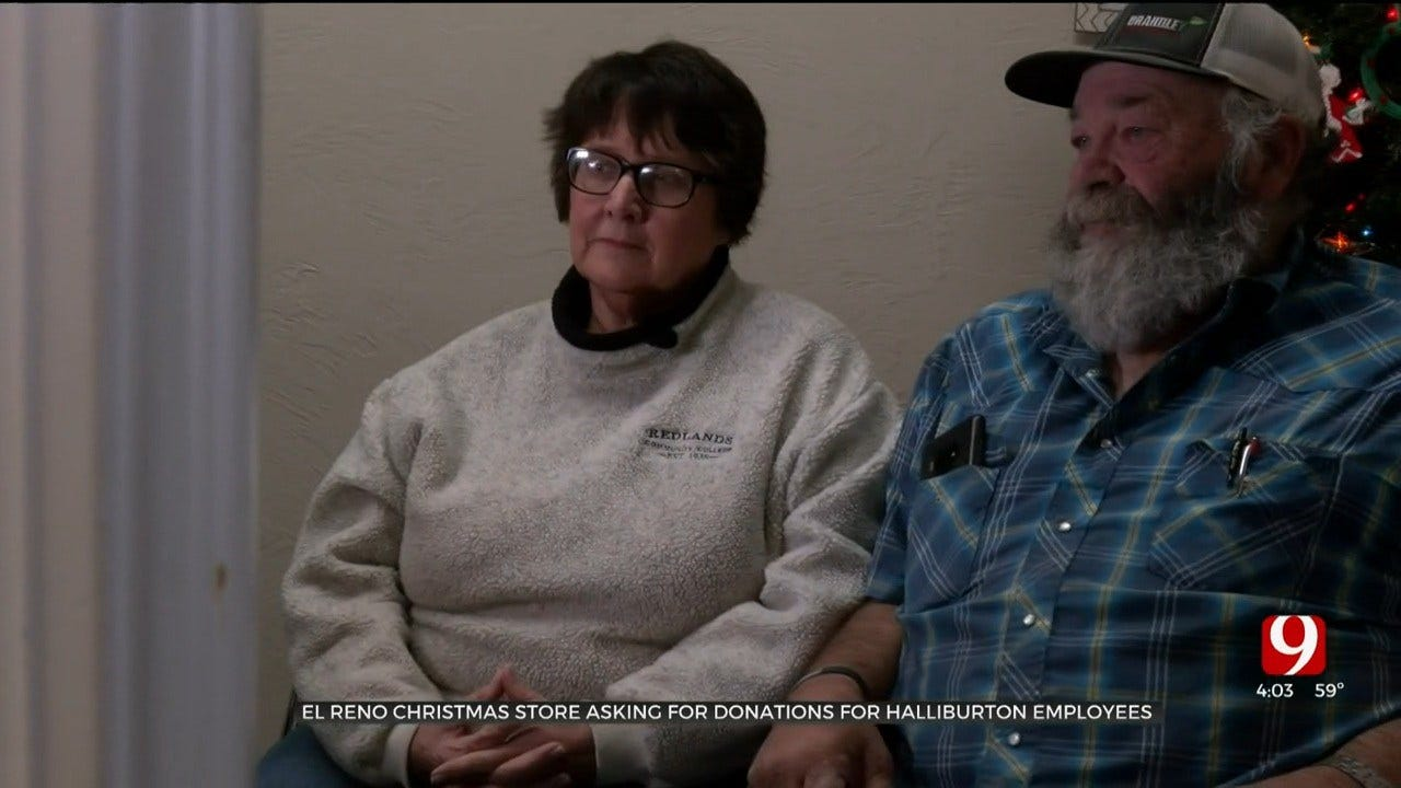 El Reno Christmas Store Asking For Donations For Halliburton Employees