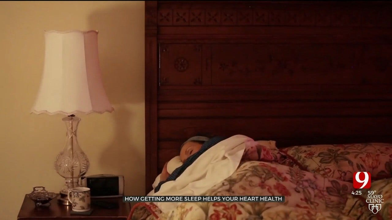 Medical Minute: How Getting More Sleep Helps Your Heart Health
