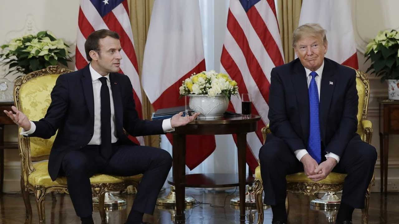 Trump Rips French Leader For 'Nasty' Remark As NATO Summit Begins