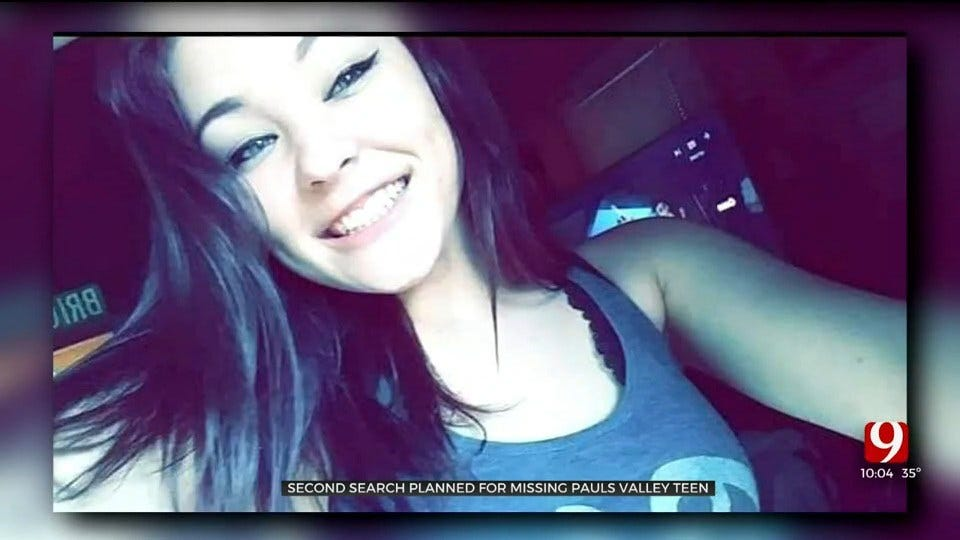2nd Search Planned For Missing Pauls Valley Teen