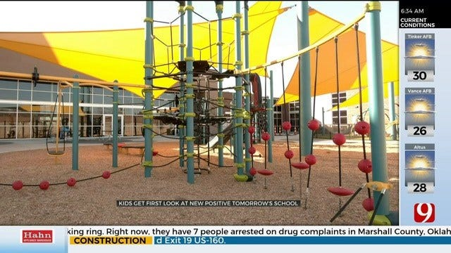 Homeless Students Get First Look At New Positive Tomorrows School