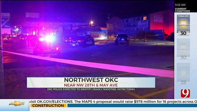 OKC Police Expected To Identify Victim In Deadly Shooting
