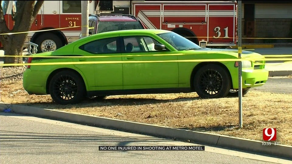 OKC Police Investigating Shooting Near Green Carpet Inn