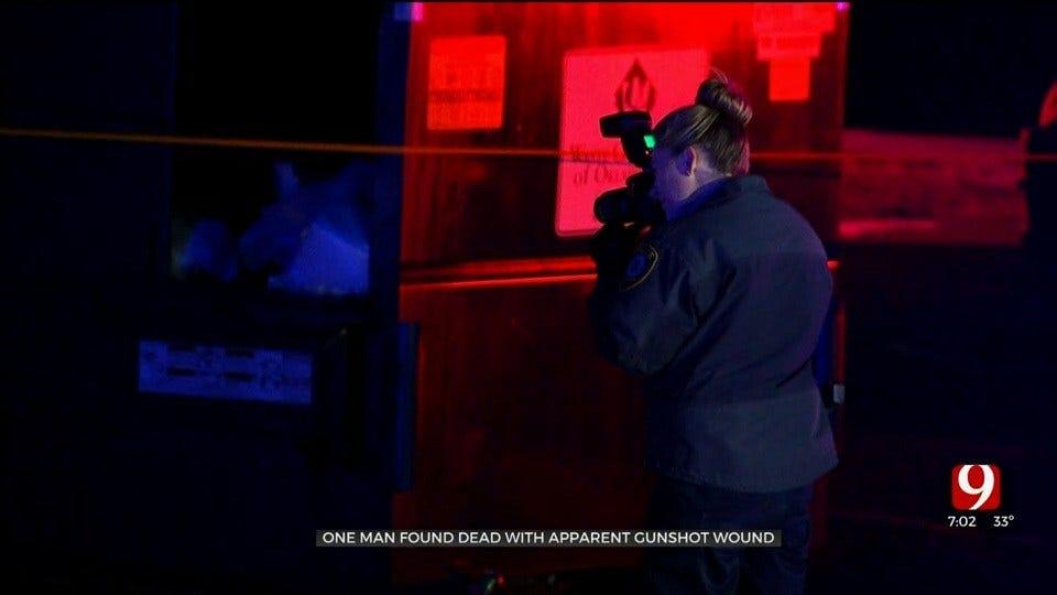 Man Found Shot To Death In OKC