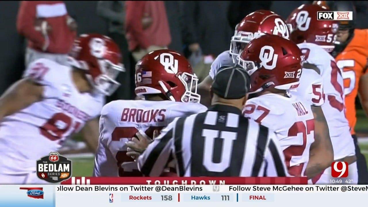Brooks Leads No. 7 Oklahoma Past No. 21 Oklahoma State