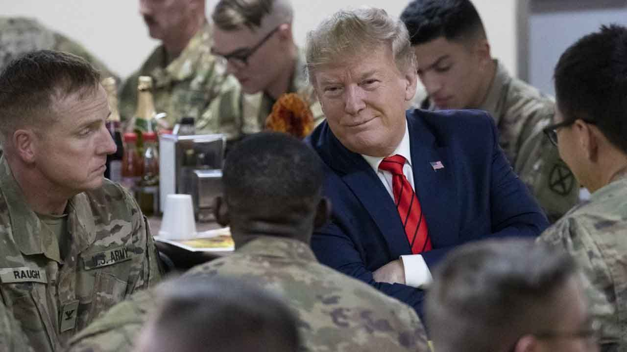 Trump Thanks Troops In Afghanistan, Says Taliban Want A Deal