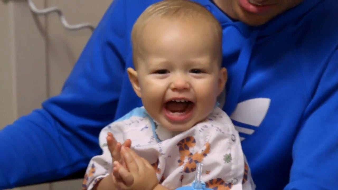 Vocal Cord Surgery Gives Toddler With Rare Condition A Voice