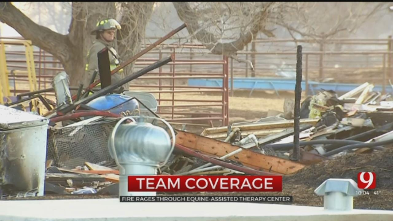 Equine-Assisted Therapy Ranch For Girls Destroyed In Woodward County Wildfire