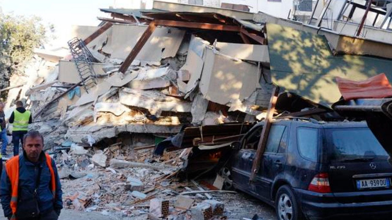 Death Toll Mounts As Albania Digs Out From Powerful Earthquake