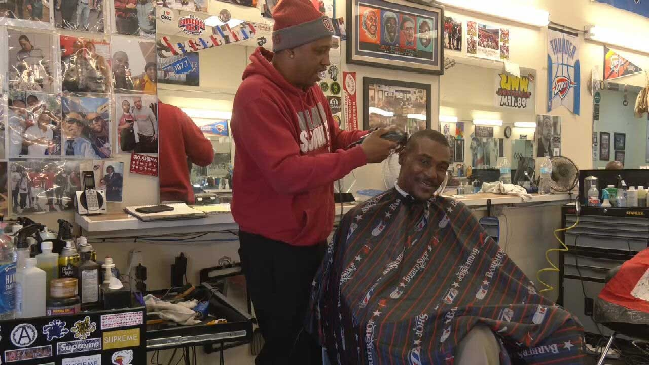 'It Was Like The Lord Made Me Find Him': Barber Helps Former Sooner Star Get Back On His Feet