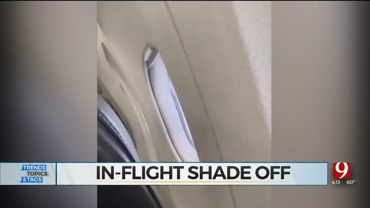 Trends, Topics & Tags: In-Flight Shade Off
