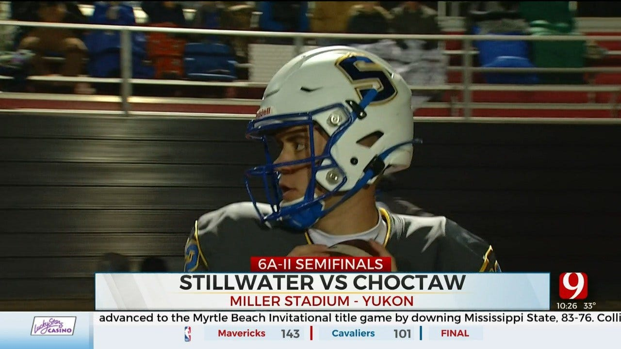 High School Football Roundup: Stillwater Beats Choctaw, 62-12 In Playoffs