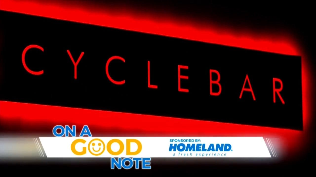 On A Good Note: Riding For Charity At Cyclebar
