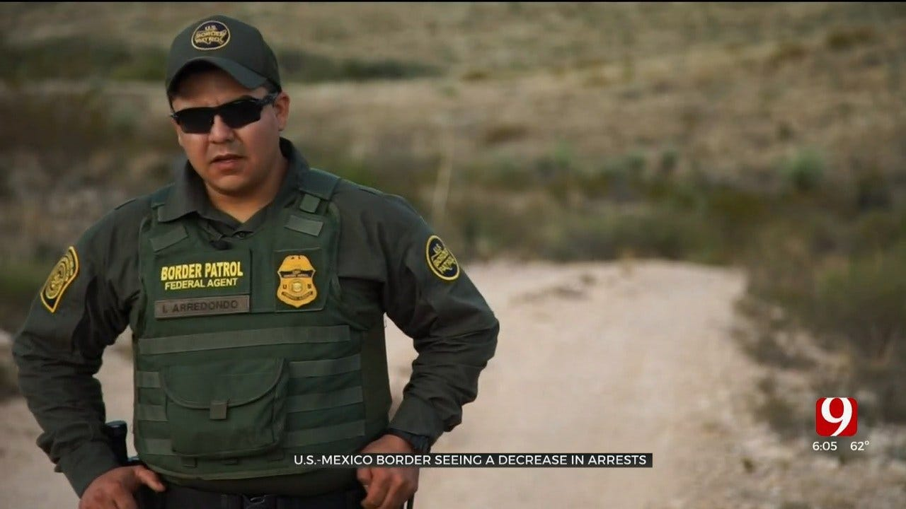 Protecting The Homeland: U.S.-Mexico Border Seeing Decrease In Arrests
