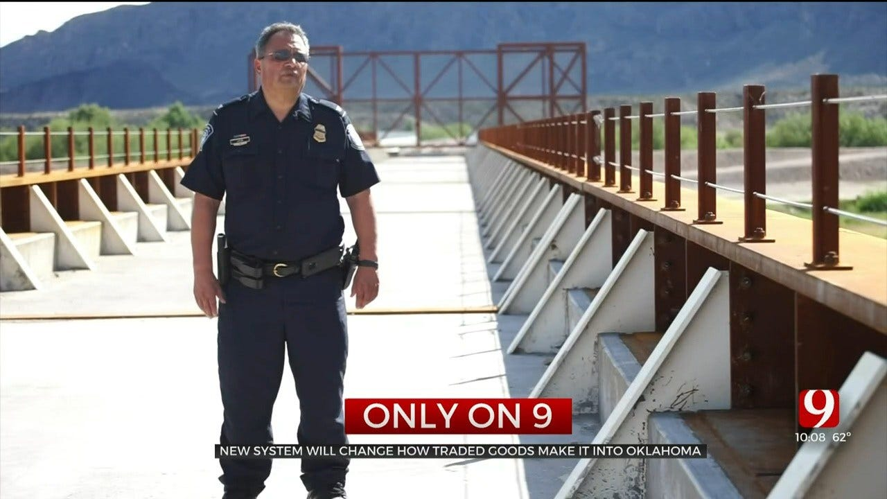 New System At U.S.-Mexico Border Will Change How Traded Goods Make It Into Oklahoma