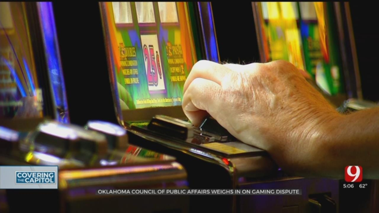 Okla. Council Of Public Affairs Weighs In On Gaming Compact Dispute Between Tribes, Gov. Stitt