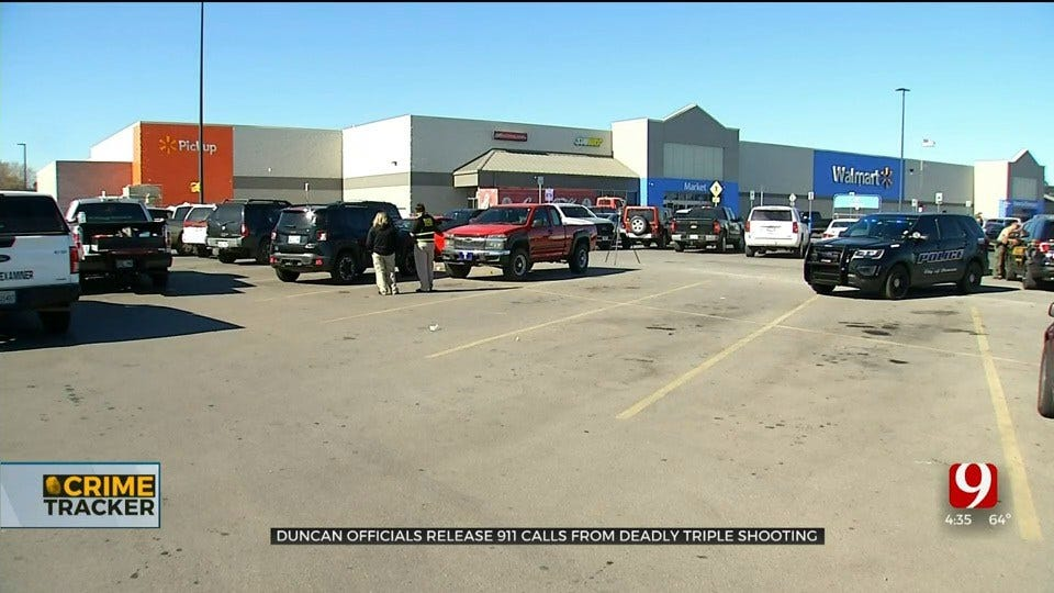 Police Release Frantic 911 Calls From Deadly Triple Shooting At Duncan Walmart