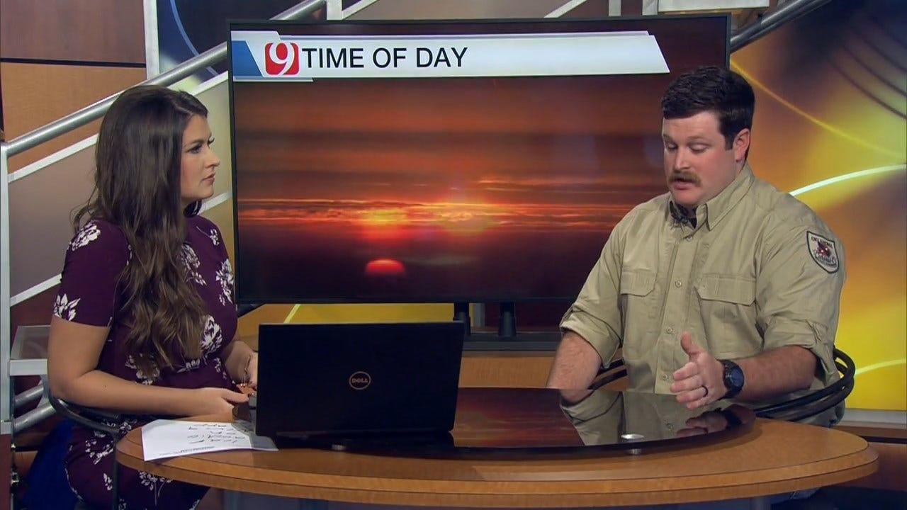 WATCH: Meteorologist Lacey Swope On How Okla. Weather Impacts Deer Movement