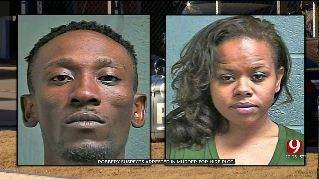 OKC Couple Arrested, Accused Of Alleged Revenge Murder-For-Hire Plot