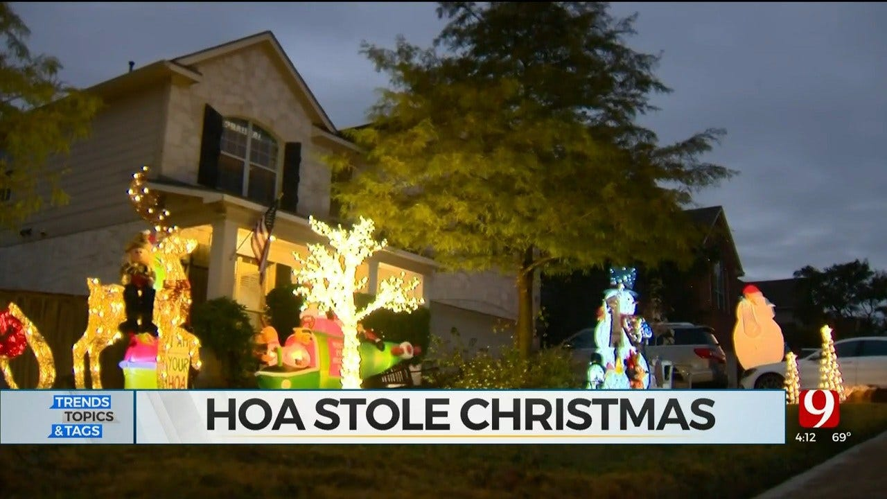 Trends, Topics & Tags: HOA Steals Christmas