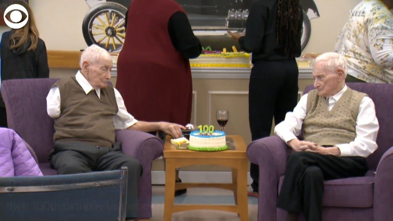WWII Twin Brothers Celebrate Their 100th Birthday