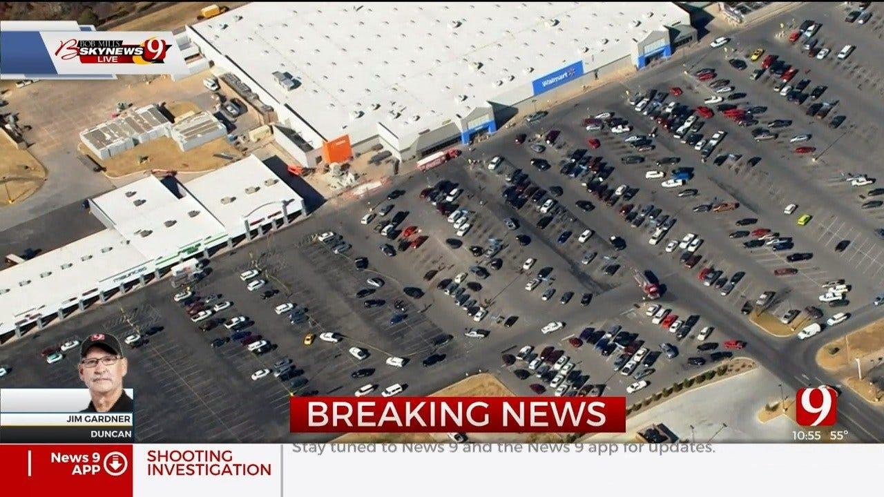 WATCH: 3 Dead In Shooting Outside Duncan Walmart