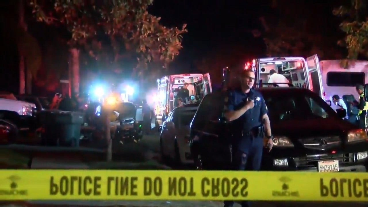 10 Shot, 4 Killed At Backyard Football Party In Fresno, Calif.