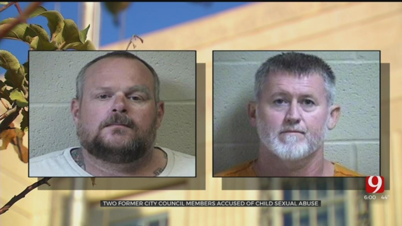 2 Former City Councilmen Accused Of Sexually Abusing Child Appear In Pottawatomie County Court
